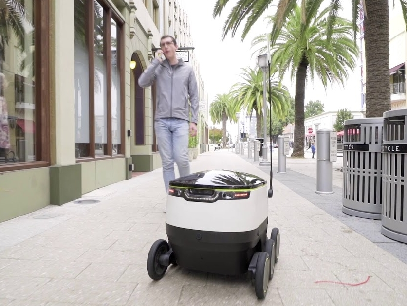 Redwood City seeks to continue robot deliveries