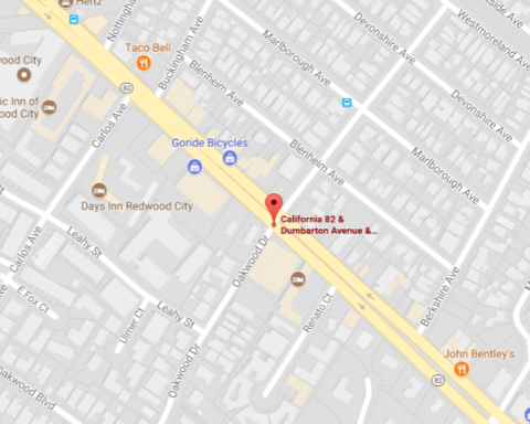 Traffic advisory issued for El Camino Real in Redwood City
