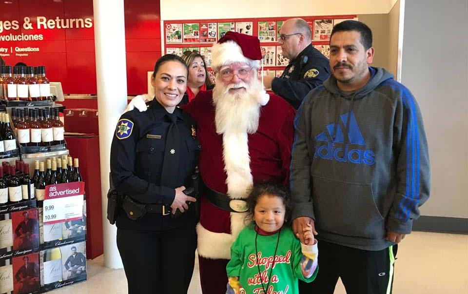 Redwood City kids treated to Target shopping spree