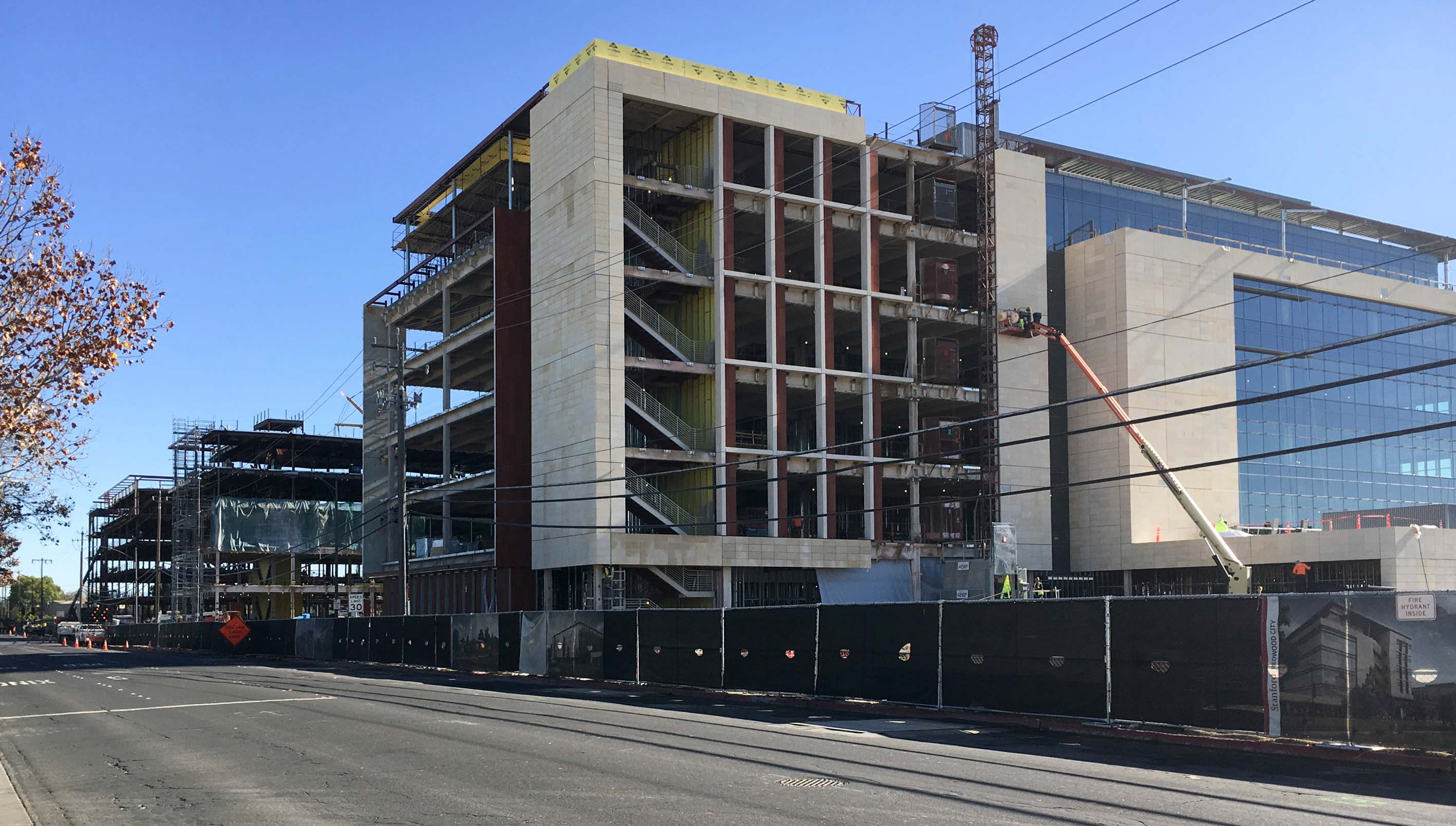 Stanford Redwood City campus taking shape