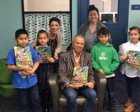 Famous author Gary Soto visits Redwood City schools ahead of talk