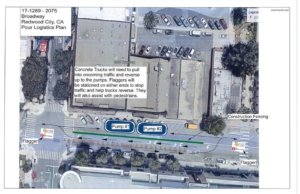 Drivers warned of traffic delays Thursday at Jefferson/Broadway in Redwood City