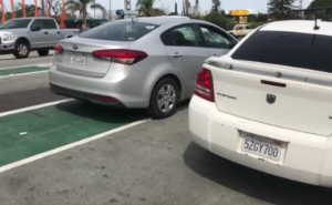 Stanley Roberts of People Behaving Badly exposes illegal parking incident in Redwood City