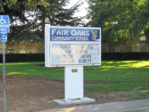 Fair Oaks Community School families win chance to keep school open