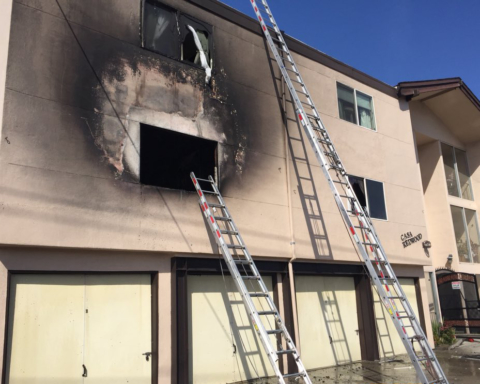 Multi-unit apartment building in Redwood City damaged in fire
