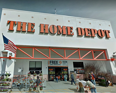 Home Depot theft suspect drops passport, birth certificate and cellphone while fleeing