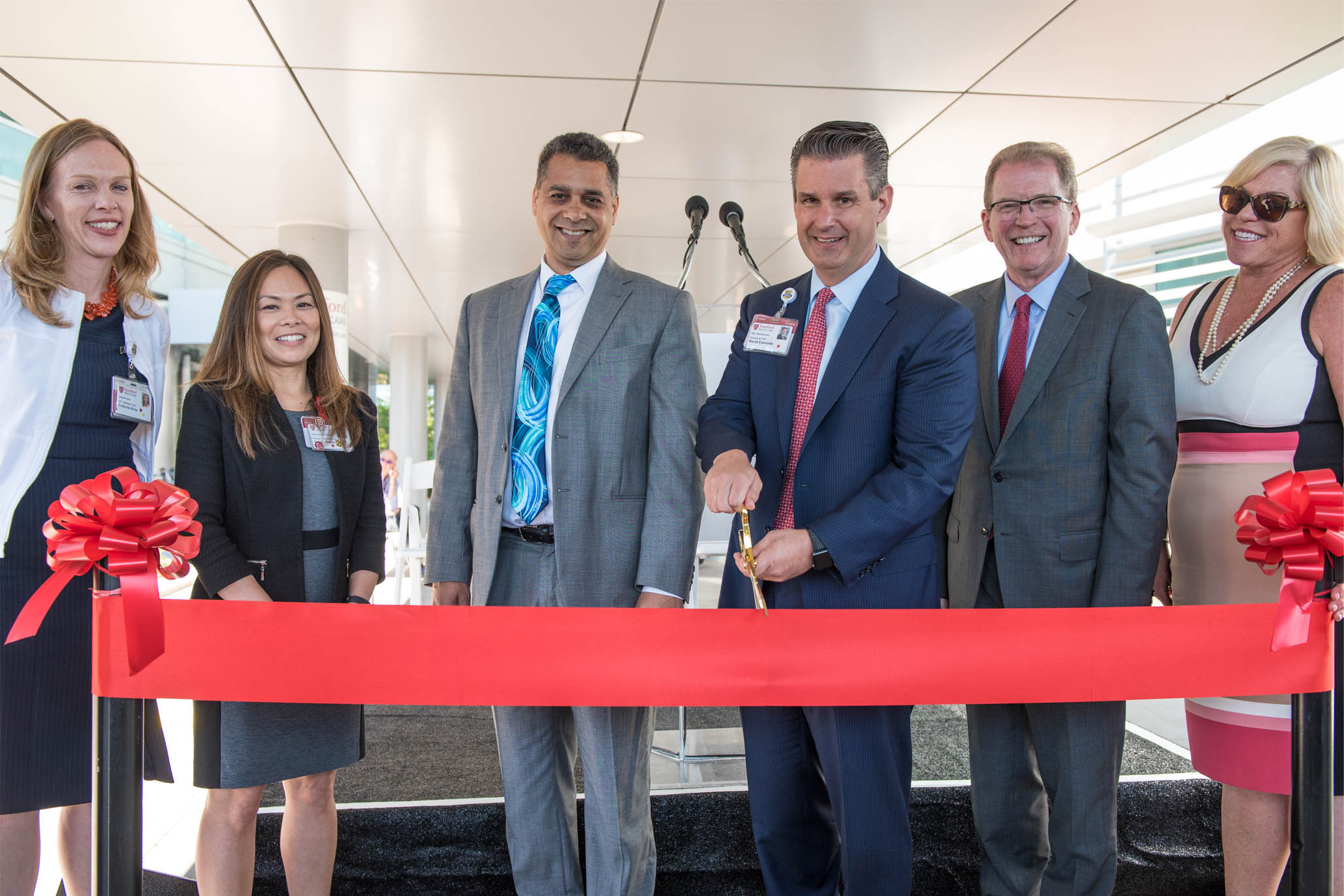 Stanford's new outpatient building in Redwood City