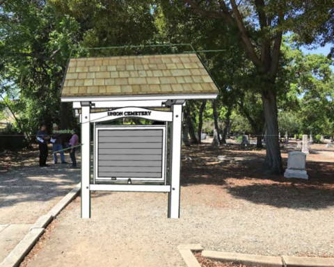 Proposal seeks to build information kiosk at Union Cemetery