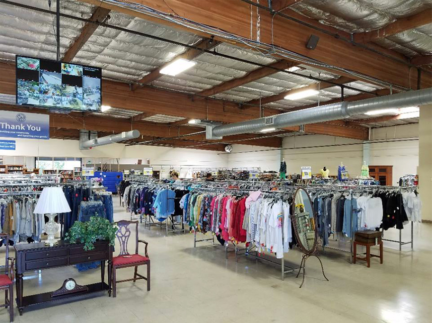 SVDP Thrift Store gets makeover thanks to Google, HandsOn Bay Area