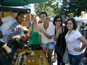 Art on the Square goes bling on Friday