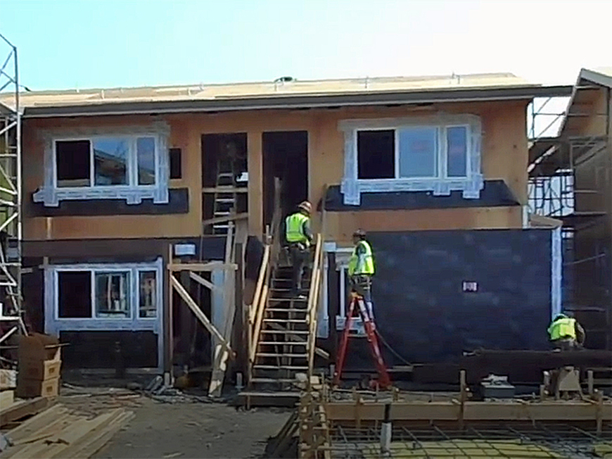 Redwood City affordable housing complex undergoing major rehab