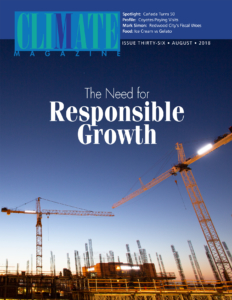 August edition of Climate Magazine hits news racks