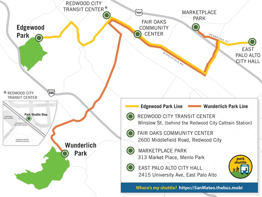 San Mateo County to discontinue parks shuttle service due to declining ridership