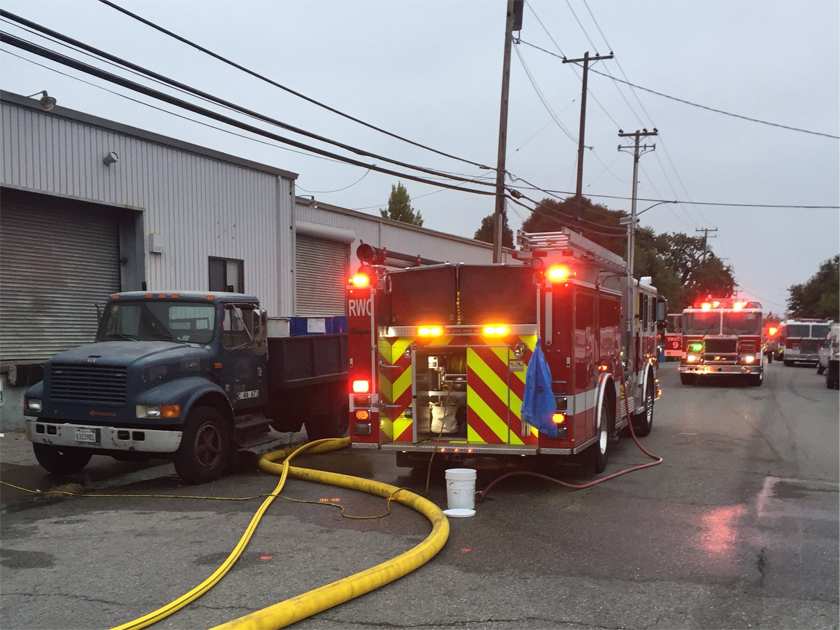 Quarry Road warehouse fire under investigation