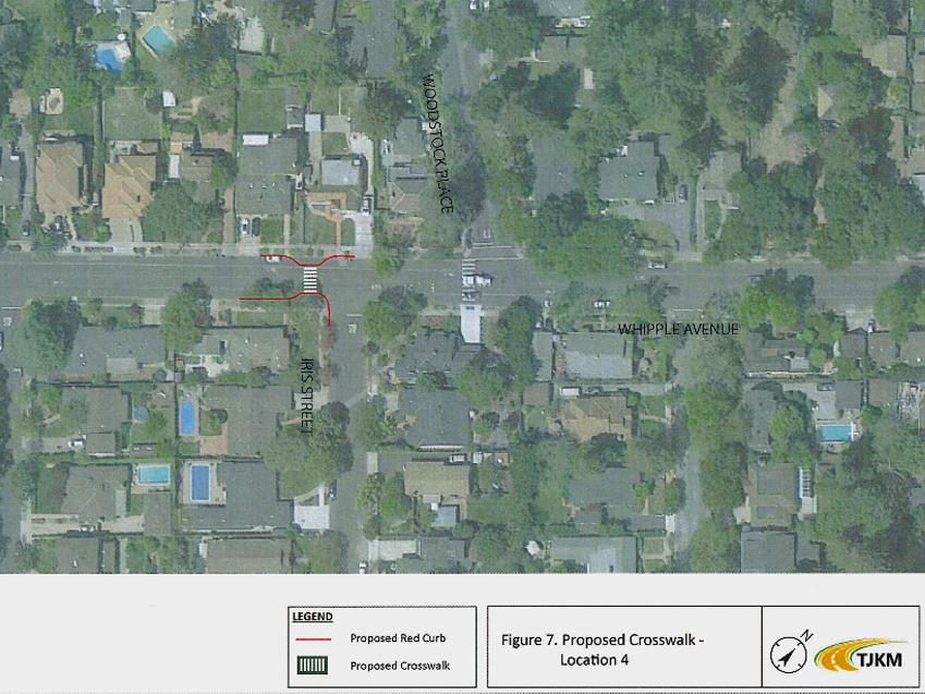 Neighbors opposed to plan to relocate Whipple crosswalk