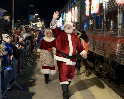 Caltrain Holiday Train set to roll first weekend of December