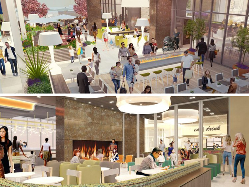 Hillsdale Shopping Center to debut its new Dining Terrace today