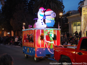 Redwood City downtown preps for festive Hometown Holidays