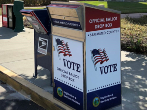 The San Mateo County Elections Office said the Tuesday night results included all ballots cast at vote centers. The results also included vote by mail ballots the Elections Office had received in the mail by Monday, and vote by mail ballots turned into Vote Centers and Drop Boxes by Sunday. The results, however, do not include mailed ballots received by the Election's Office after Monday, or ballots dropped off at Vote Centers or Drop Boxes after Sunday. The results also don't include conditional voter registration or provisional ballots. The Elections Office will release another update on results today at 5 p.m.