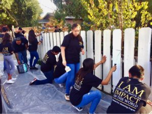 Fair Oaks Elementary and home of elderly sisters receive sprucing thanks to SAL