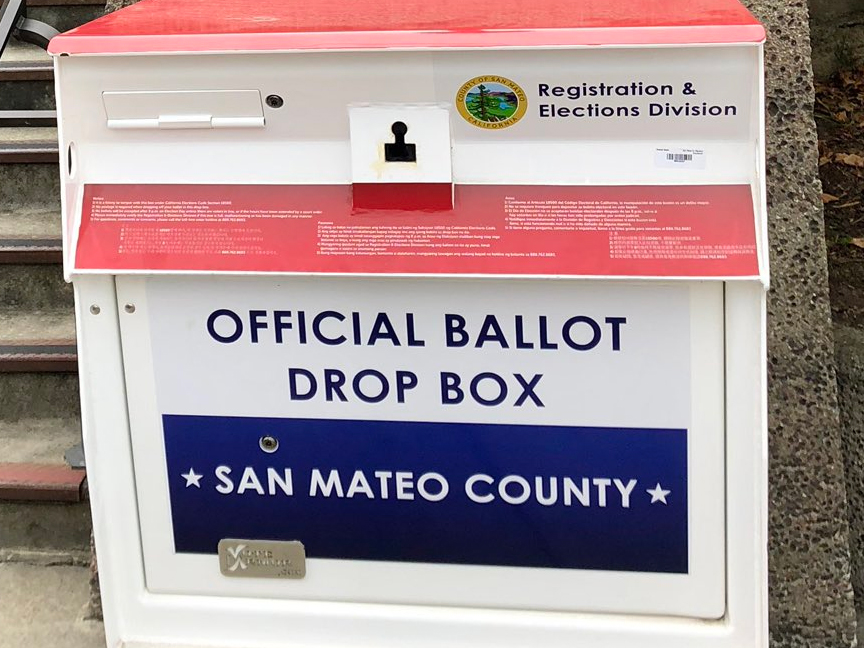 San Mateo County: Vote today to avoid lines, and it's not too late to register
