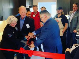 Spring Street Shelter's kitchen renovation celebrated