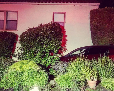 No injuries when car strikes home in San Carlos