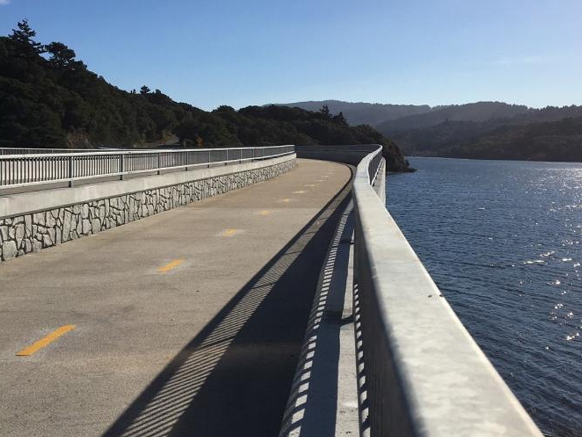 Newly rebuilt Crystal Springs Dam Bridge set to open Friday
