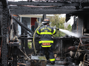 Five adults, one child displaced in North Fair Oaks fire