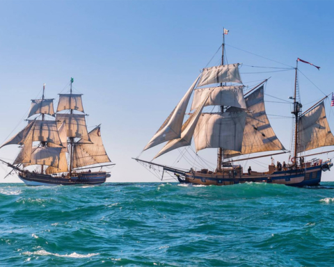 Tall Ships coming to Redwood City Friday