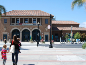 Redwood City Public Library went fine free Tuesday