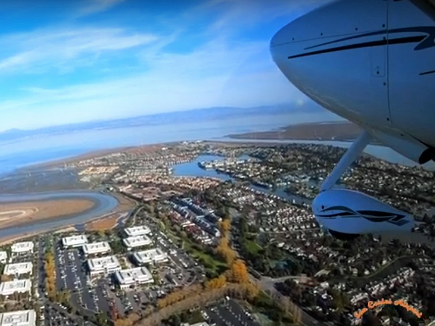 County unveils aerial videos, website aimed at reducing aircraft noise