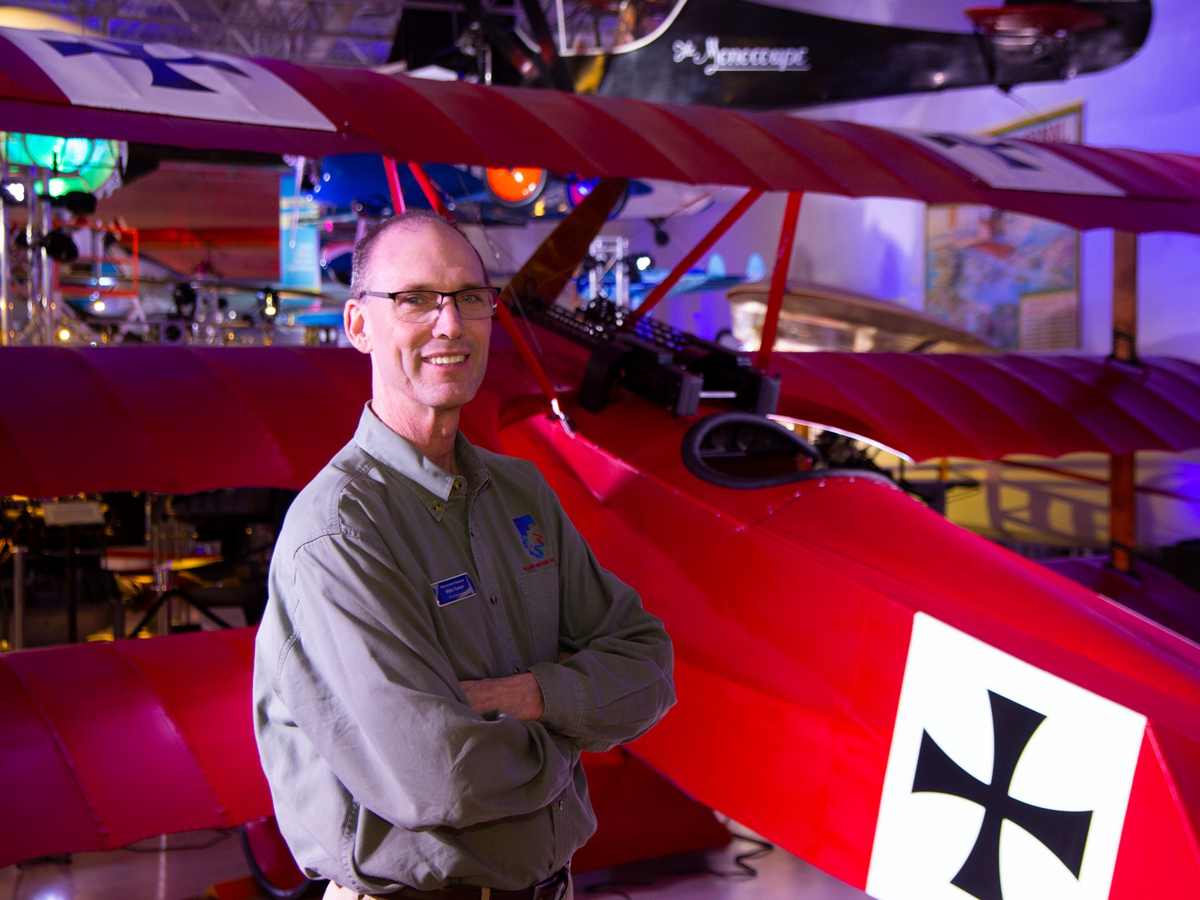 Belmont pilot 'a kid in a candy shop' at Hiller Aviation Museum