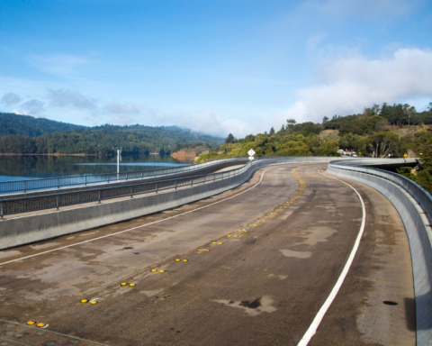 Lower Crystal Springs Dam Bridge to close to cars for construction