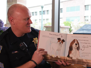 San Mateo cops reading to children virtually during COVID-19 lockdown