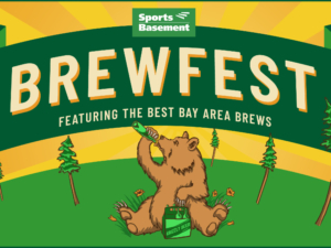 Brewfest at Sports Basement to support Hiller Aviation Museum