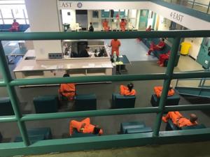 San Mateo County correctional population at 59 percent of capacity