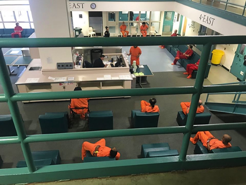 San Mateo County correctional population at 59 percent of capacity
