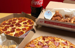 Domino's now offer customers option of 'contactless' deliveries