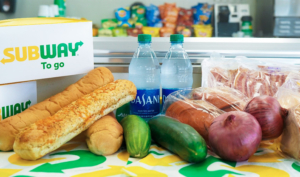 Subway adds grocery services to national COVID relief efforts
