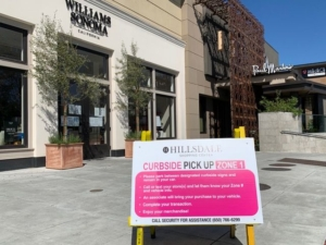 Curbside pickup opens at Hillsdale Shopping Center