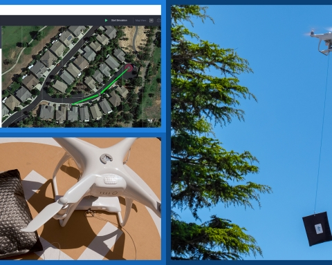 Drone deliveries being trialed in San Mateo and Contra Costa counties