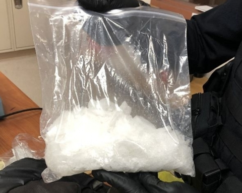 San Mateo police seize over one pound of meth in traffic stop