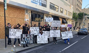 Redwood City's peaceful protest adds hope to anger and despair