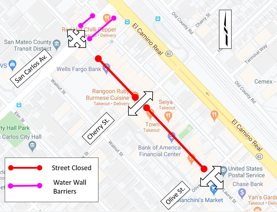 Laurel Street closure to support businesses starts Saturday