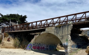 Popular bridge at Half Moon Bay State Beach closes, will be replaced