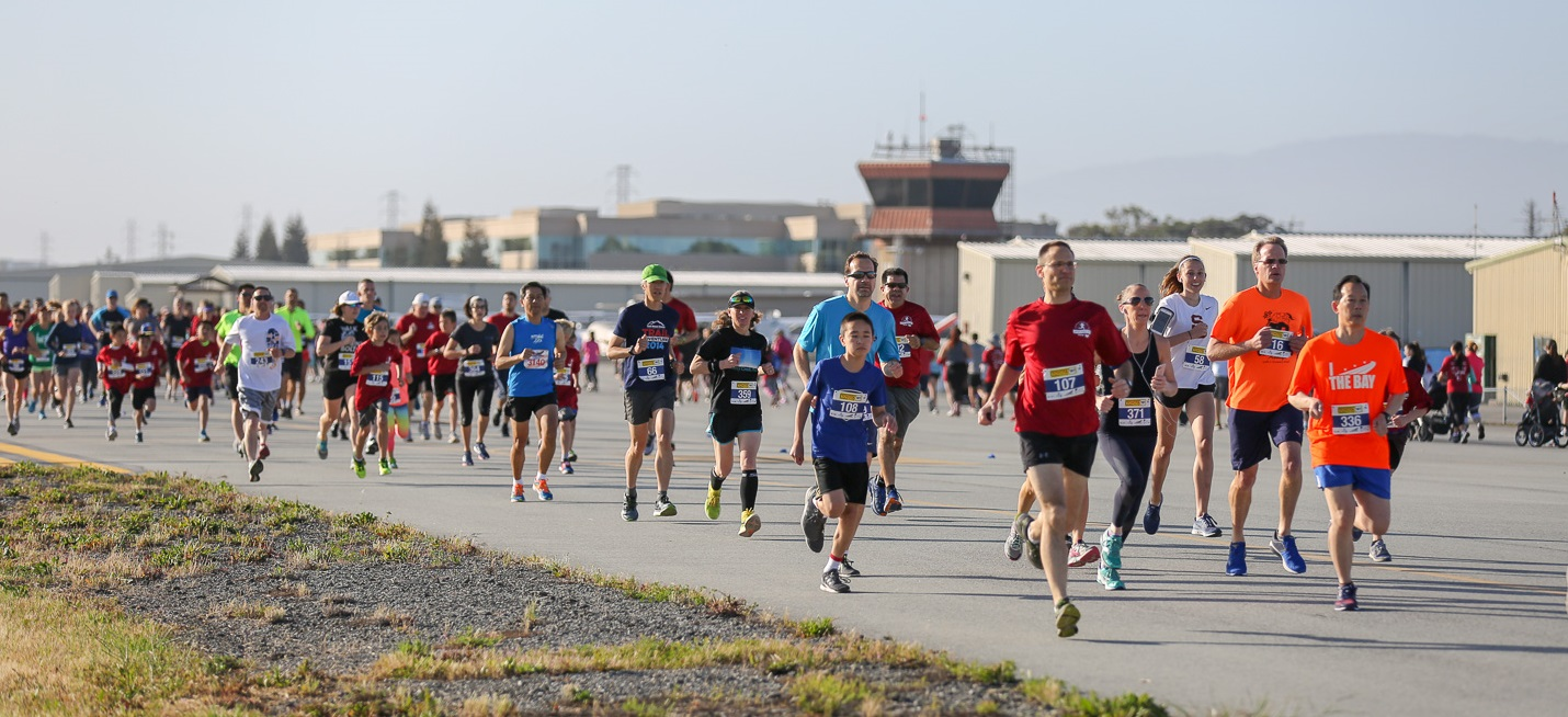 Hiller Aviation Museum to host runway run virtually this year