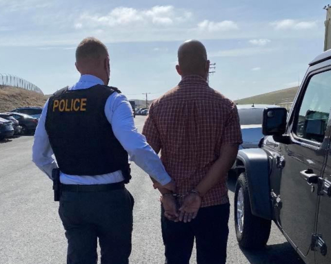 """A 29-year-old San Francisco man was arrested today in connection with a non-injury shooting that occurred on northbound U.S. 101 near Marsh Road on Monday. Derrick Roberts was booked in Solano County Jail on suspicion of attempted murder, assault with a firearm, shooting from a motor vehicle, and negligent discharge of a firearm in connection with the shooting. He is pending extradition to San Mateo County. The CHP - Golden Gate Division Special Investigations Unit (SIU) led the investigation into the freeway shooting. Robert was identified as the shooter and arrest warrants were obtained for him. At the time of his arrest, Roberts was allegedly found in possession of an illegal firearm in his vehicle, as well as a spent casing. Detectives later served a search warrant at his residence in San Francisco and found three additional illegal firearms including a pistol, semi-automatic shotgun, and an AR-15 style short-barreled assault rifle with a pistol grip, the CHP said. In addition, Detectives seized """"several hundred rounds of ammunition, to include armor piercing rounds and extended magazines,"""" the CHP said. The CHP added that Roberts confessed to the shooting to detectives. Once transferred to San Mateo County, Roberts will face additional illegal firearm and ammunition possession charges, the CHP said. Photos courtesy of the CHP"""