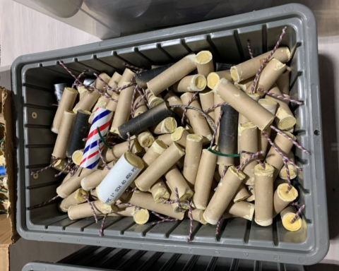 15 pounds of explosives and materials seized at San Mateo County residences