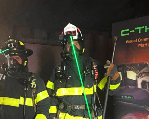 Menlo Park firefighters first in nation to use hands-free thermal imaging technology